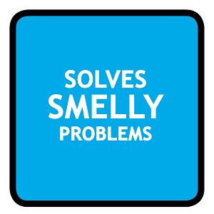Solves smelly problems